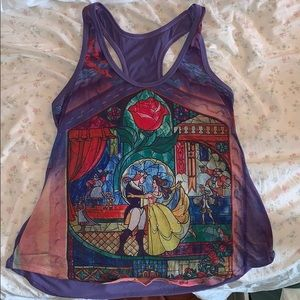 Beauty and the Beast Racerback Tank